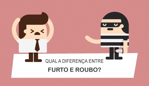 Qual a diferena entre furto e roubo