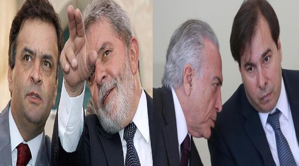 Acio Lula Temer Maia PRB Cunha Geddel As novas provas revelam corrupo no doao eleitoral