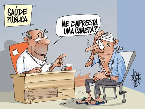 Resultado de imagem para falta de saude publica no brasil
