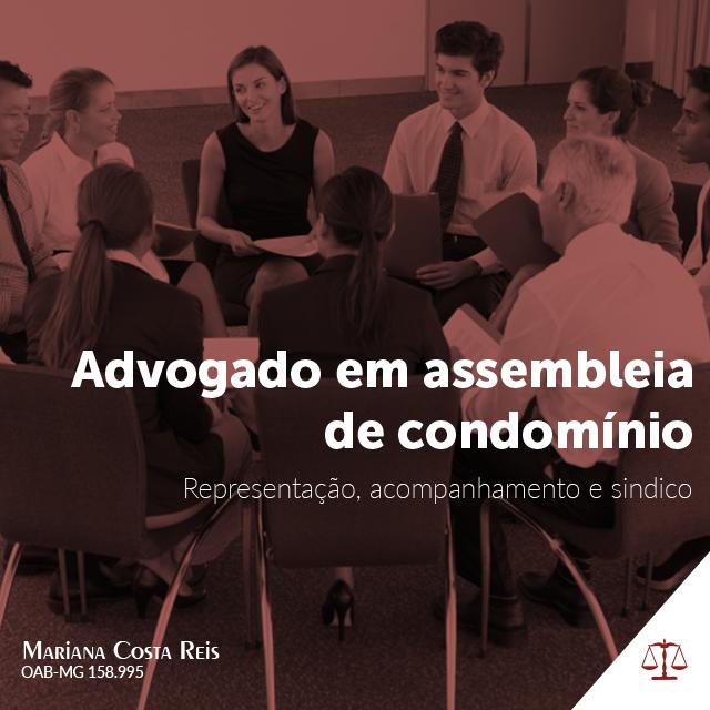 Assistência Do Advogado Em Assembleia De Condomínio
