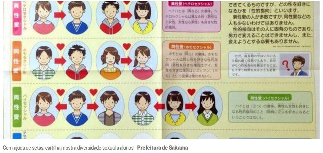 Crianças japonesas aprendem sobre diversidade