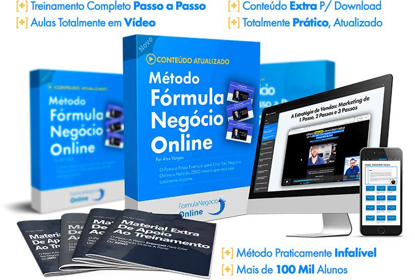 formula negócio online pagina de vendas