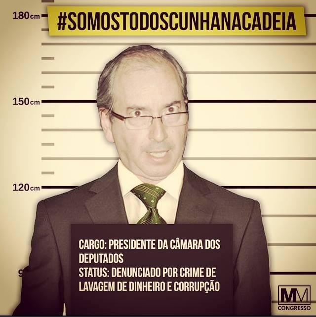 Eduardo Cunha condenado a 15 anos de recluso por trs crimes na Lava Jato